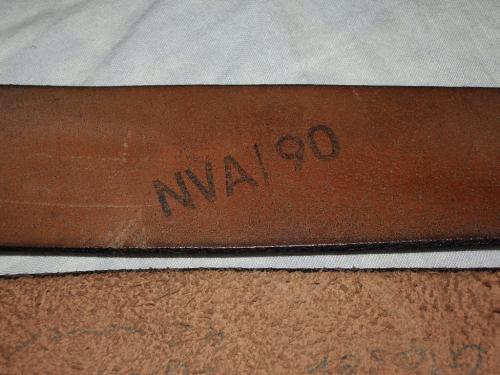 NVA兵下士官用ベルト05