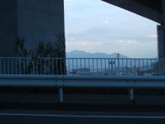 県道77号上ってまもなく、富士山