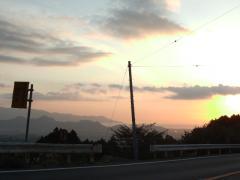 駿河湾を望む