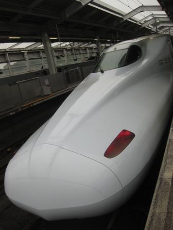 新幹線帰り