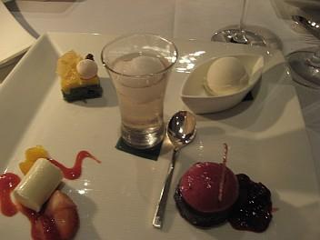 dessert tasting asiate
