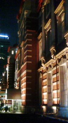東京駅壁面