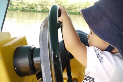 ボートの運転手