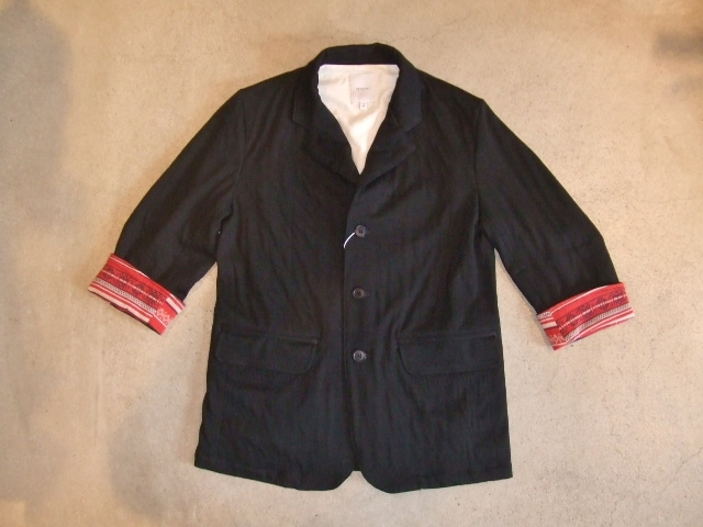 rehacer Link 7sleeve tailored jacket2
