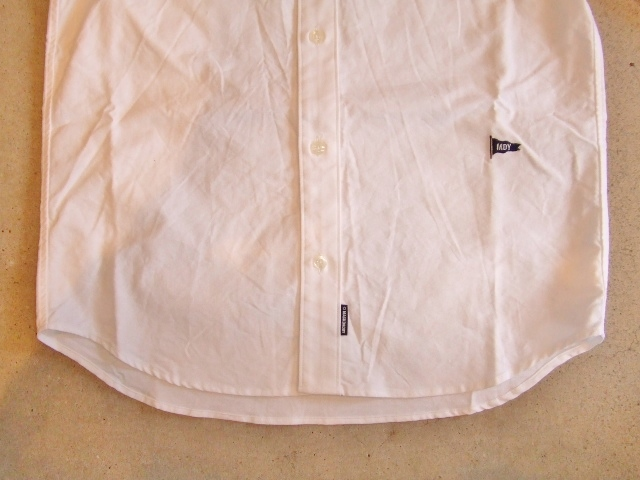 MDY CLASSIC OXFORD SHIRT WHITE FT2