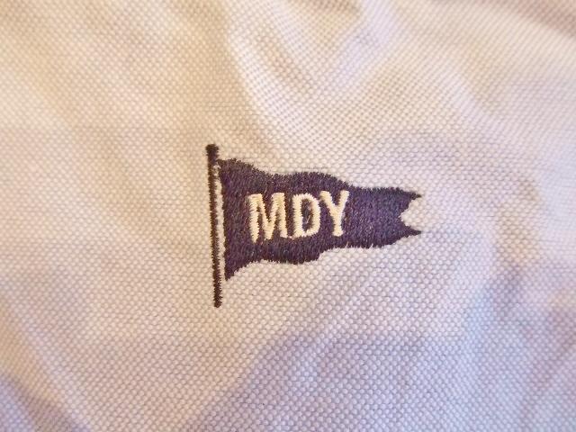 MDY CLASSIC OXFORD SHIRT BLUE SS