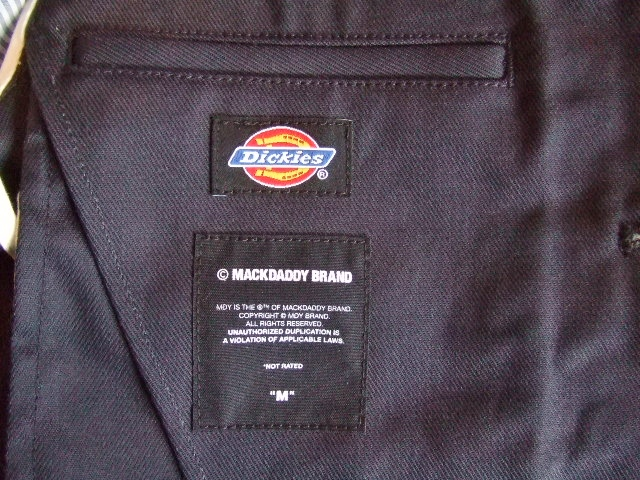 Dickies×MACKDADDY 3BUTTON JACKET NAVY TG