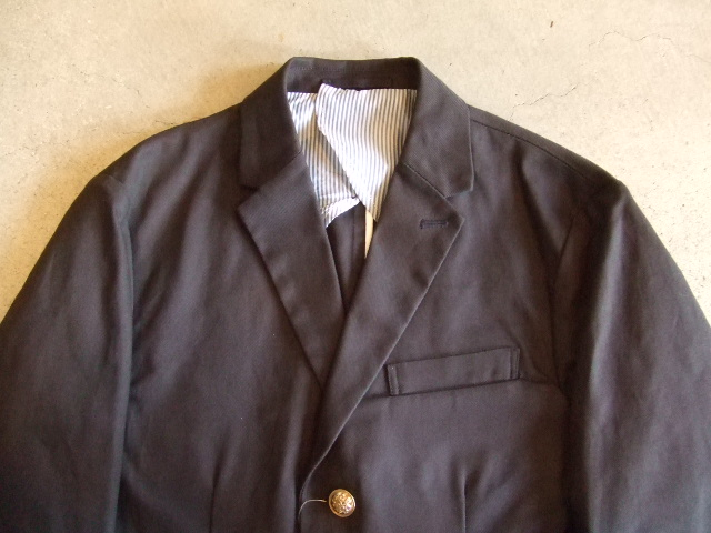 Dickies×MACKDADDY 3BUTTON JACKET BLACK FT1