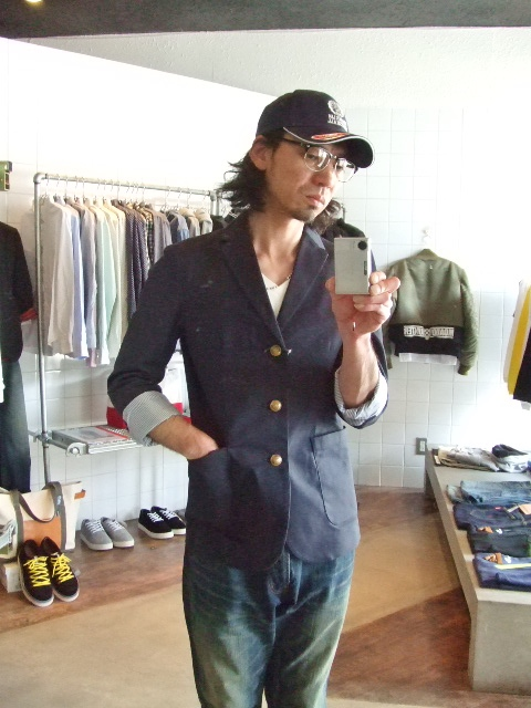Dickies×MACKDADDY 3BUTTON JACKET ST2