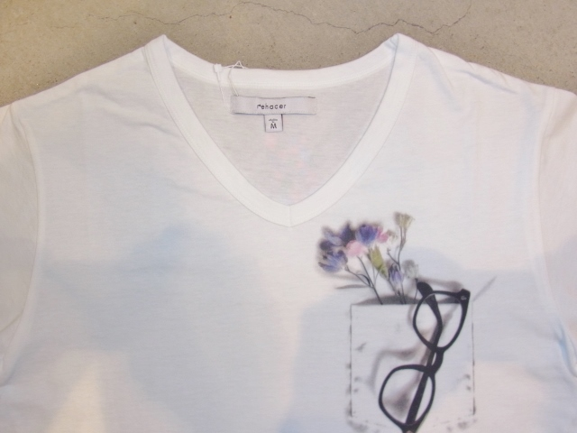 rehacer Flower glasses ss Tee Vnc