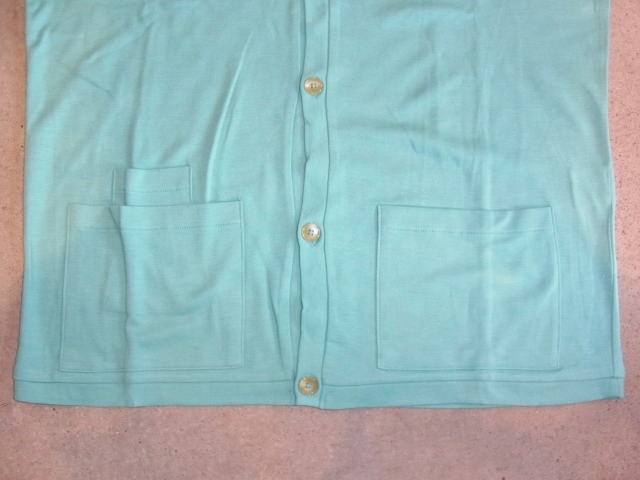 DOARAT W POCKET CARDIGAN MINT FT2