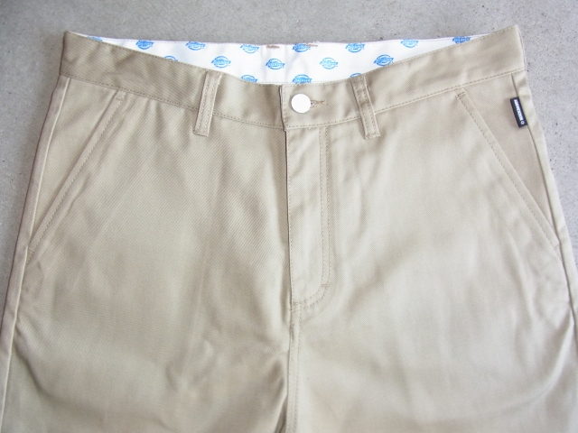 Dickies×MACKDADDY CHINO SHORTS BEIGE FT