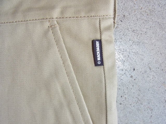 Dickies×MACKDADDY CHINO SHORTS BEIGE FTPT