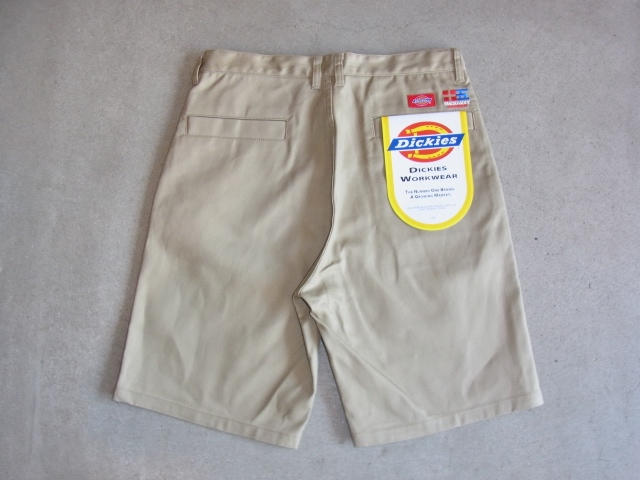 Dickies×MACKDADDY CHINO SHORTS BEIGE BK