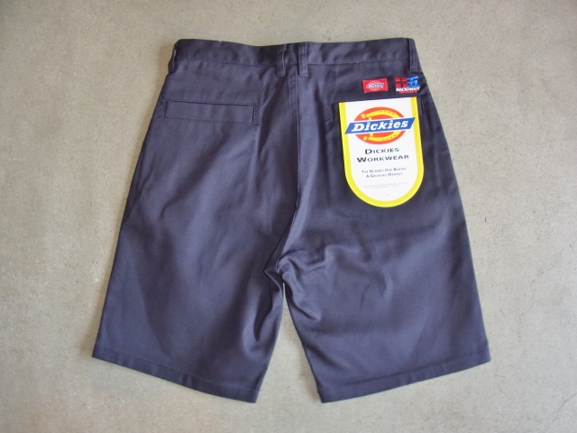 Dickies×MACKDADDY CHINO SHORTS NAVY BK