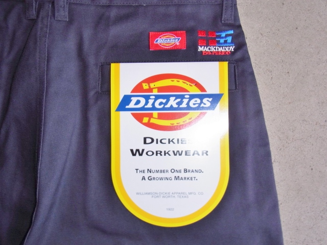 Dickies×MACKDADDY CHINO SHORTS NAVY BKPT