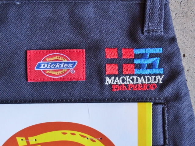 Dickies×MACKDADDY CHINO SHORTS NAVY BKTG