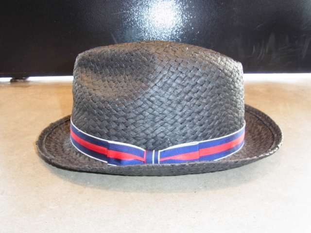 MDY STRAW HAT BLACK