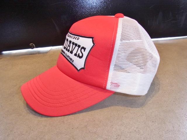 BENDAVIS EMBLEM CAP RED