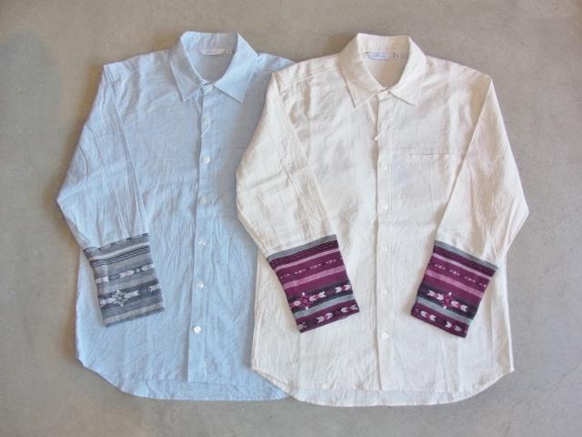 rehacer 8 sleeve linen shirt