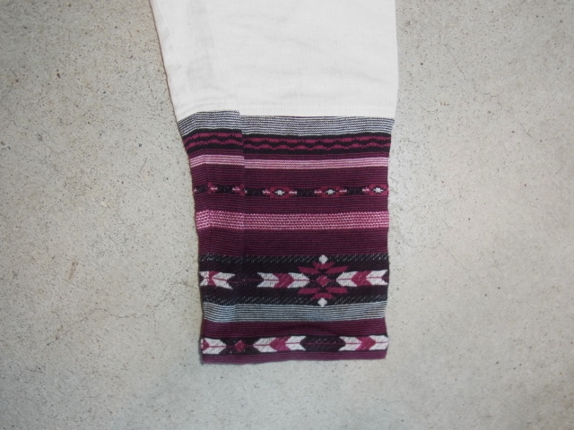 rehacer 8 sleeve linen shirt Lwhite sd1