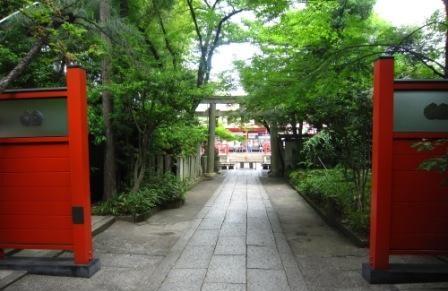 車折神社 新緑IMG_5245 - コピー