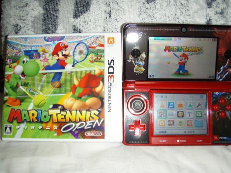 3DS マリオテニスオープン
