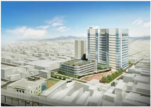 0498上空から見た新庁舎