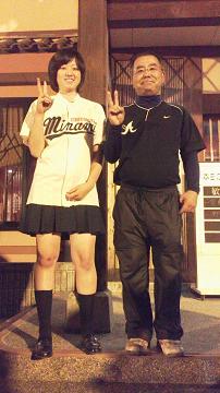 0511監督とあんちゃん