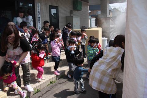 20120518沼田保育園非難訓練