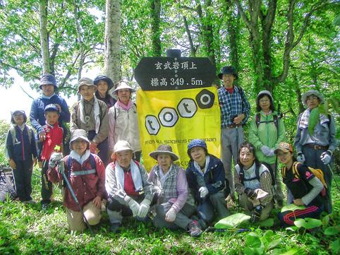 20120603玄武岩ネイチャーハイキング