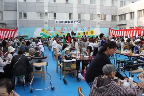20120721和風園夏祭り