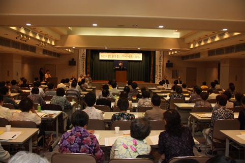 20120724平成24年度全道女性・健康づくりリーダー研修会