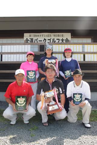 20120830第11回NHKすずらん記念「明日萌の里」全道パークゴルフ大会