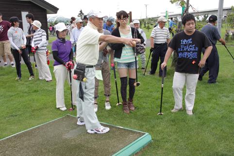 20120901第1回教育長杯争奪パークゴルフ大会