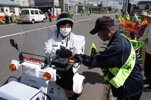 20120926秋の全国交通安全運動に係る街頭啓発