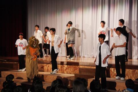 20121006第45回沼田中学校文化祭