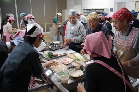 20121107男性の料理教室