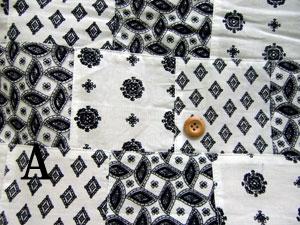 【50%オフ】インド綿パッチワーク(ペイズリー) 1 0405