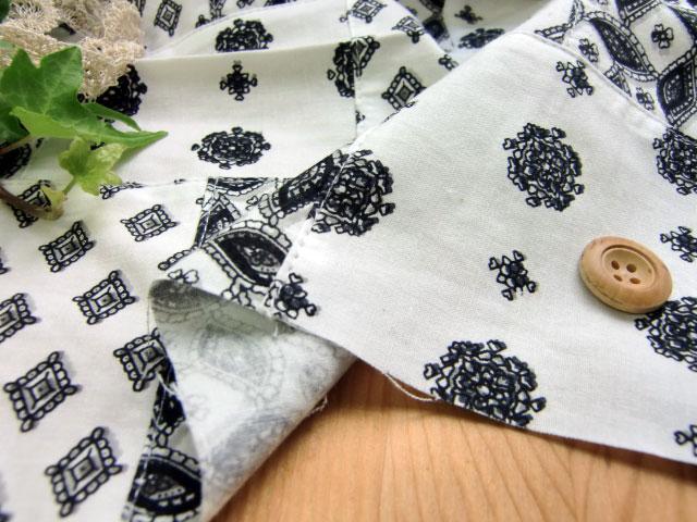 【50%オフ】インド綿パッチワーク(ペイズリー) 2 0405