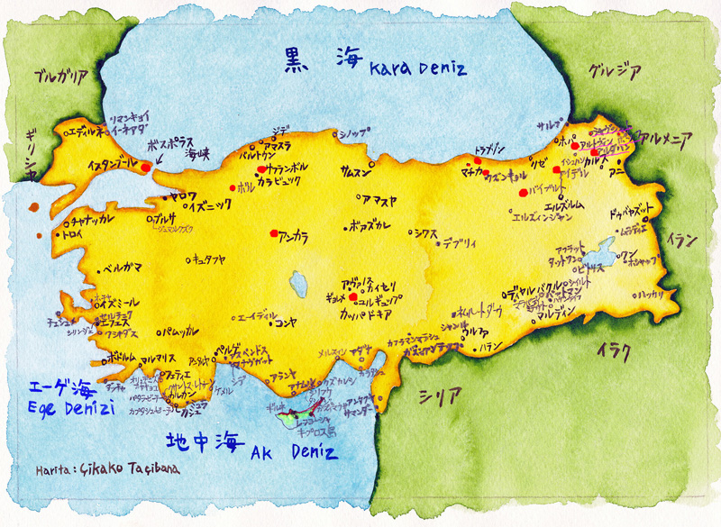 00トルコ地図①