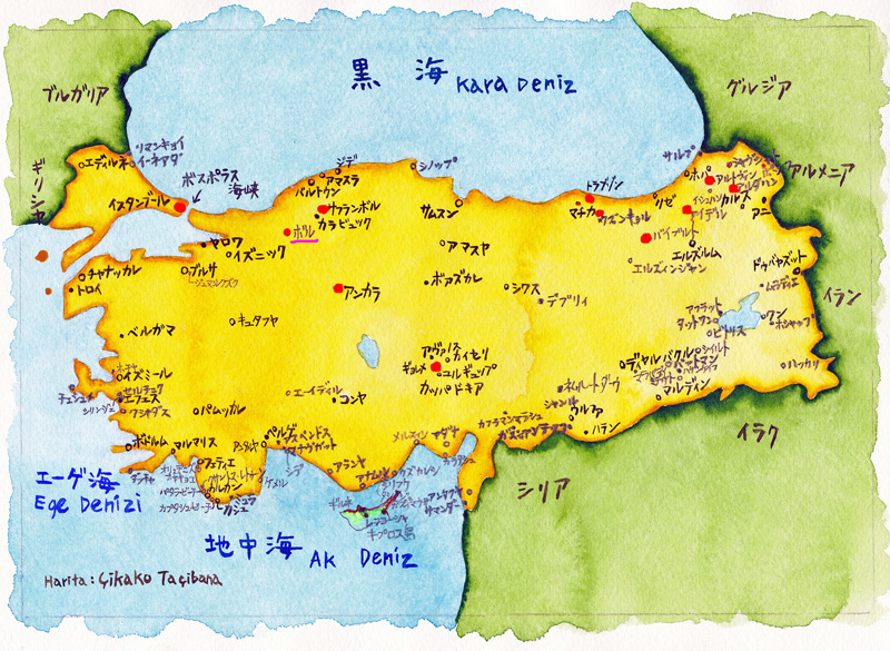 00トルコ地図⑬