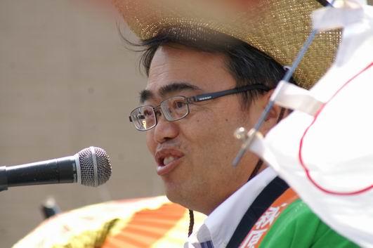 大村愛知県知事も、おもわずにっこりと