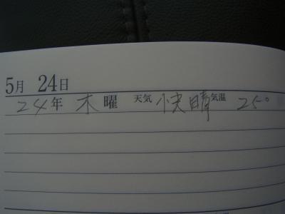 日記5:24白紙縮小