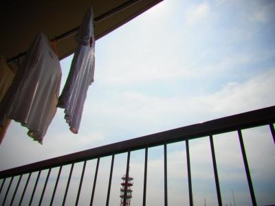 晴れ間洗濯物最終縮小