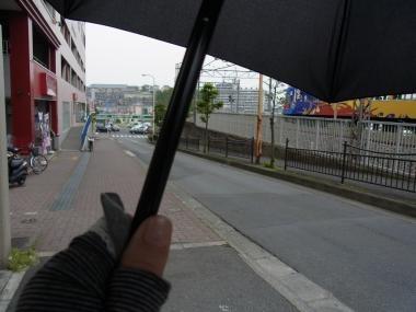 晴れ間日傘縮小