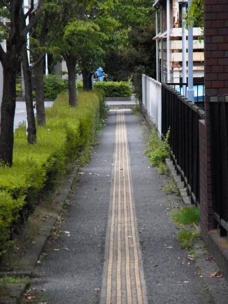 まっすぐ道路加工済み