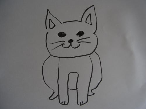 猫の絵縮小1