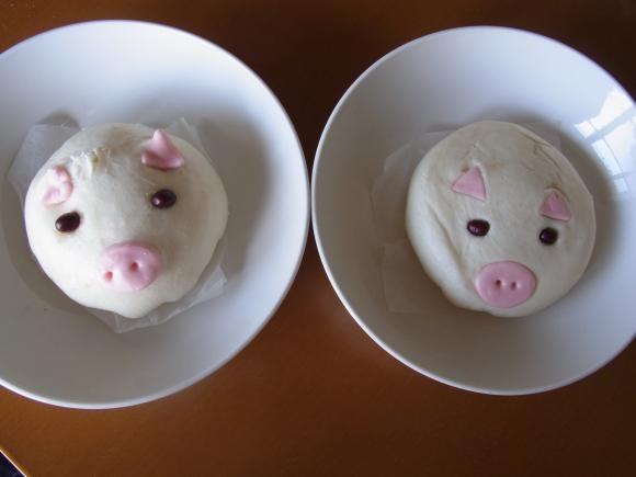 豚まん二個縮小