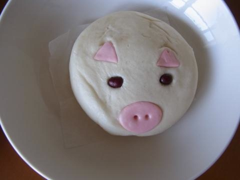豚まんつぶれ縮小